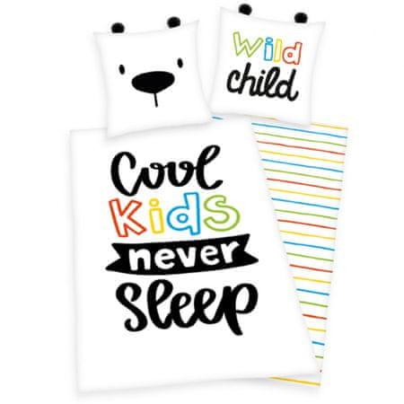 """Herding Ágyneműhuzat """"Cool kids never sleep"""""""