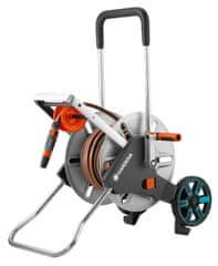 Gardena 18547-20 Vozík na hadici kovový AquaRoll M Easy - sada