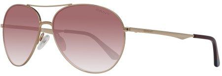 10ce96d60 Gant dámské zlaté sluneční brýle | MALL.SK
