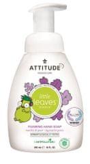 Attitude Detské penivé mydlo na ruky Little leaves s vôňou vanilky a hrušky 295 ml