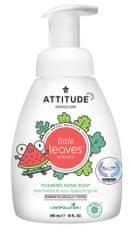 Attitude Detské penivé mydlo na ruky ATTITUDE Little leaves s vôňou melónu a kokosu 295 ml