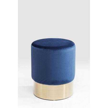 KARE Stolička Cherry Blue Brass O35 cm UK