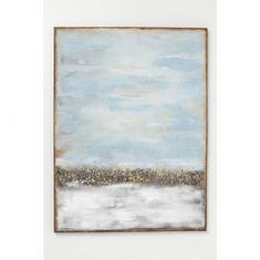 KARE Olejomaľba Abstract Horizon 120 × 90 cm