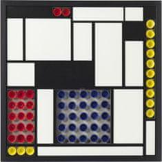 KARE Nástěnná dekorace Squares Colore 80×80 cm