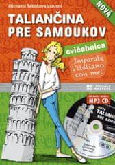 Šeböková Vannini Michaela: Nová taliančina pre samoukov - cvičebnica