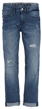 s.Oliver chlapecké kalhoty 152 modrá