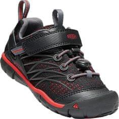 KEEN buty rekreacyjne dziecięce U Chandler Cnx C-Raven/Fiery Red