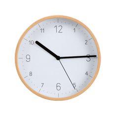 Tescoma Nástěnné hodiny FANCY HOME, dřevo, bílý ciferník