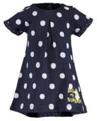 Blue Seven dívčí šaty s puntíky