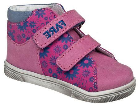 Fare buty dziewczęce za kostkę 21 różowe