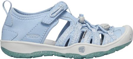 KEEN sandały dziewczęce Moxie Sandal Y-Powder Blue/Vapor US 8 (EU 24)