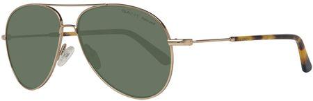 Gant okulary przeciwsłoneczne męskie złote