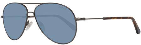 Gant pánské kovově šedé sluneční brýle