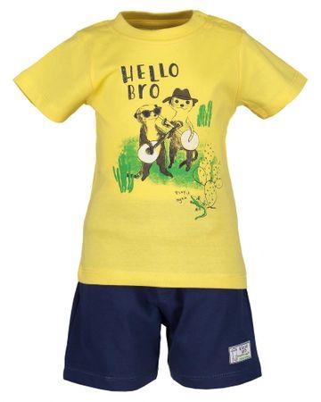 Blue Seven kétrészes fiú garnitúra 68 sárga