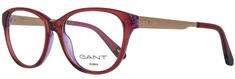 Gant ženski okvir za očala, rdeč