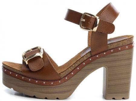 Refresh ženski sandali, 40, rjavi