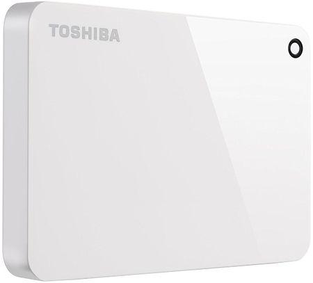TOSHIBA dysk zewnętrzny Canvio Advance - 1TB, biały (HDTC910EW3AA)