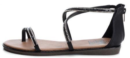 XTI dámské sandály 40 černá