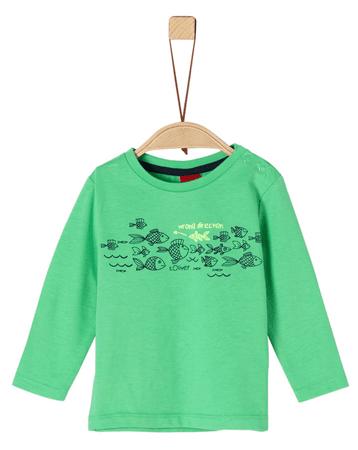 s.Oliver koszulka chłopięca 68 zielona
