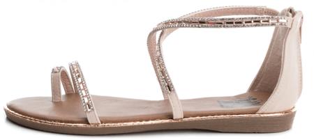 XTI dámské sandály 41 růžová