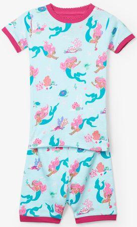 Hatley dívčí letní pyžamo 86 vícebarevná