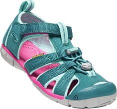 KEEN sandały dziecięce Seacamp II Cnx Y-Deep Lagoon/Bright Pink