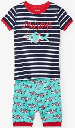 Hatley chlapecké letní pyžamo 104 červená/modrá