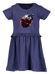 Blue Seven dívčí šaty s flitry