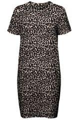 Vero Moda Dámské šaty Saga Ss Short Dress Oatmeal