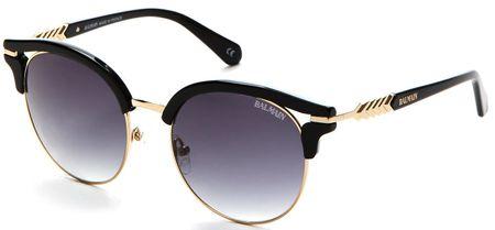 Balmain damskie czarne okulary przeciwsłoneczne