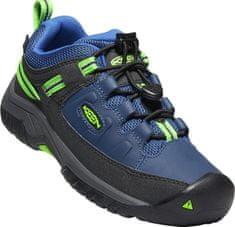 KEEN buty turystyczne dziecięce Targhee Low Wp Y-Blue Opal/Bright Green