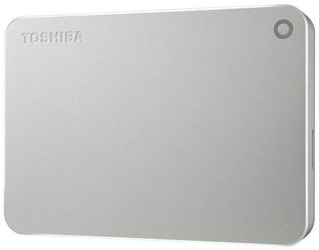 TOSHIBA dysk zewnętrzny Canvio Premium - 4TB, metaliczny srebrny (HDTW240ES3CA)