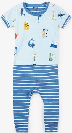 Hatley chlapecké pyžamo 62 modrá