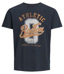 Jack&Jones Pánské triko Superior Tees Ss Crew Neck Total Eclipse Reg