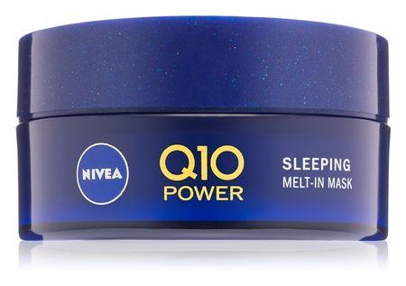 Nivea Nočná maska pre obnovu pleti s koenzýmom Q10 Power (Sleeping Mask) 50 ml