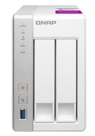 Qnap NAS strežnik TS-231P2-1G, za 2 diska