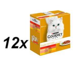 Gourmet mokra karma dla kota Gold z warzywami 12x (8 x 85g)