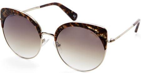 Balmain damskie okulary przeciwsłoneczne złota oprawa