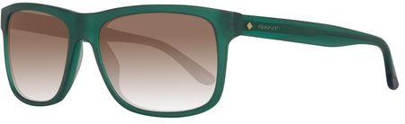 Gant męskie okulary przeciwsłoneczne zielony