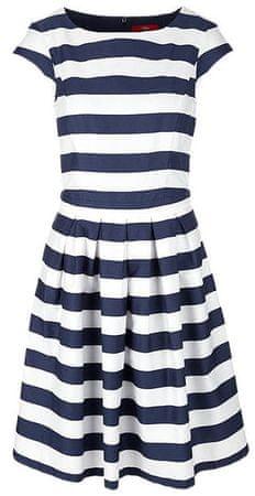 s.Oliver sukienka damska 38 ciemny niebieski