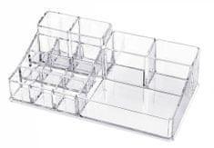 Compactor organizator za nakit i kozmetiku, 14 odjeljaka, prozirna plastika