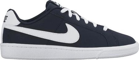 Nike fantovski športni copati Court Royale GS obsidian/white, 36.5, črni