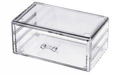 Compactor organizator za nakit i kozmetiku, 1 odjeljak, prozirna plastika