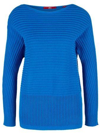 s.Oliver női pulóver 38 kék
