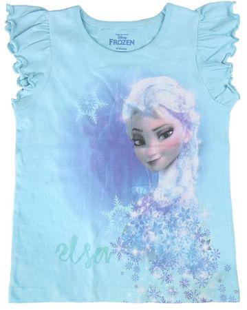 Disney dekliška majica Frozen, 110, modra
