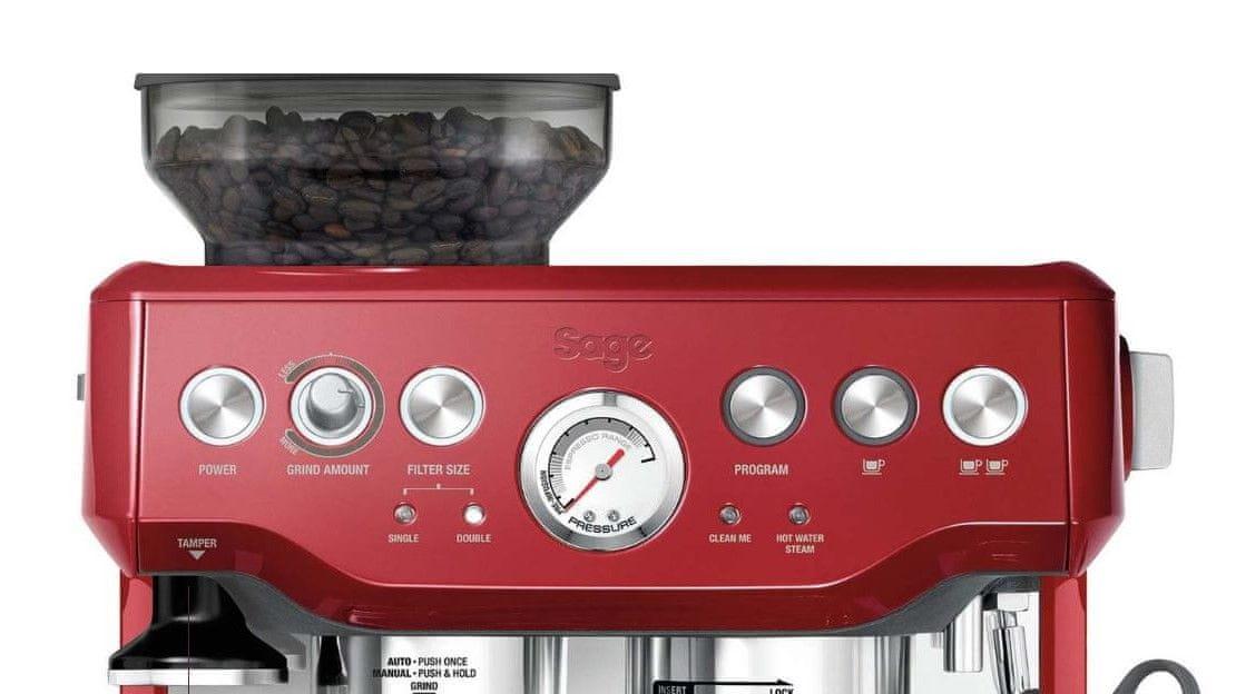 Sage SES875CRN červené