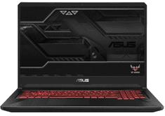 Asus prijenosno računalo TUF Gaming FX705GD-EW106T i7-8750H/16GB/SSD256GB+1TB/GTX1050/17,3FHD/W10H (90NR0112-M02850)