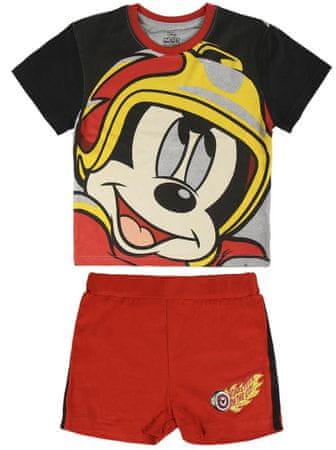 Disney chlapecký komplet Mickey 92 červená