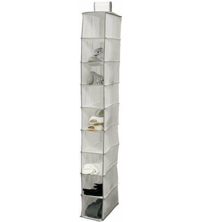 Compactor wiszący organizer do szafy NEOTEX, 9 półek