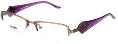 Kenzo ženski okvir za očala, rjavo vijoličen